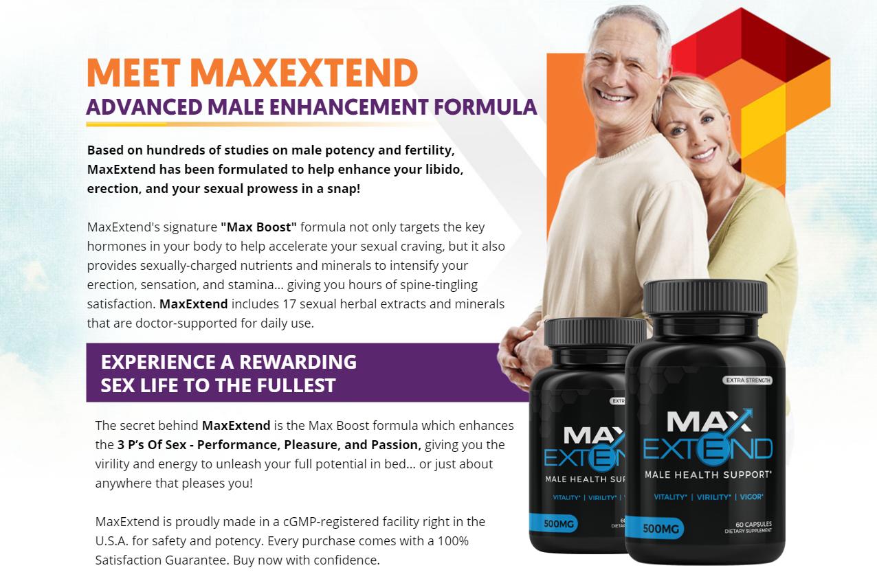 Max Extend Male Enhancement – Best Health Support Pills!