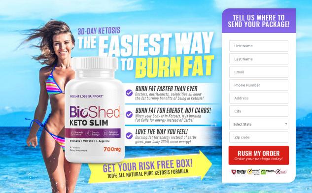 Bio Shed Keto Slim 2