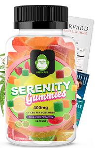Green APE Serenity Gummies